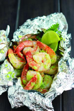 """Coconut Shrimp is from """"Foiled! Easy, Tasty Tin Foil Meals"""" by Jesseca Hallows. (Deseret Photo)"""