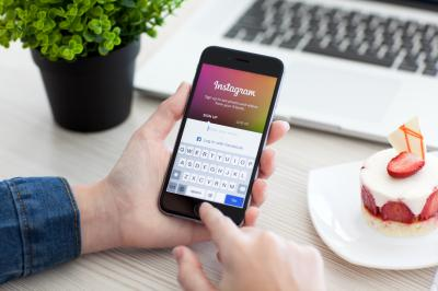 The photo-sharing app Instagram can be used for family history. (Deseret Photo)