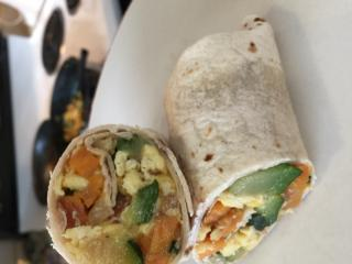 Sweet potato breakfast burritos are healthy and quick. (Deseret Photo)