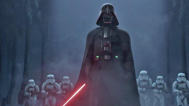 """Darth Vader, voiced by James Earl Jones, is a major force in """"Star Wars Rebels: The Complete Season Two,"""" which is now on Blu-ray and DVD. (Deseret Photo)"""