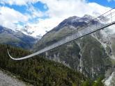 IMAGE: World's longest pedestrian suspension bridge opens in Switzerland