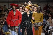 IMAGES: At Fendi and Prada, Moving Beyond the Shoulder Pad