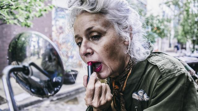 """In an undated photo she provided, Sarah-Jane Adams, 63, a jewelry designer and @saramaijewels on Instagram. A subversive cadre of women over 60 are using Instagram to prove that """"old"""" is not what it used to be. """"I'm part of the Germaine Greer generation,"""" Adams said. """"But in the world of social media, I'm simply lumped with all the over-60s."""" (Amurri Lauren via The New York Times) -- NO SALES; FOR EDITORIAL USE ONLY WITH NYT STORY SLUGGED INSTAGRAM-GRANDMAS BY LA FERLA FOR JUNE 21, 2018. ALL OTHER USE PROHIBITED. --"""