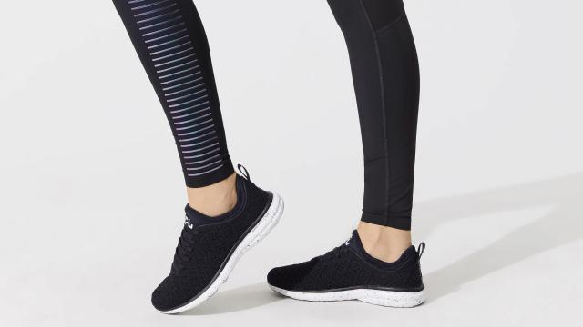 An undated handout photo shows leggings by Carbon. First there were the impossible-to-get-into $40 exercise classes. Then came $365 foam rollers and $1,000 yoga mats. And now: $320 workout tights you basically have to pass a background check to be allowed to buy. (Handout via The New York Times) -- NO SALES; FOR EDITORIAL USE ONLY WITH NYT STORY LEGGINGS-UPSCALE BY COURTNEY RUBIN FOR OCT. 31, 2018. ALL OTHER USE PROHIBITED. --