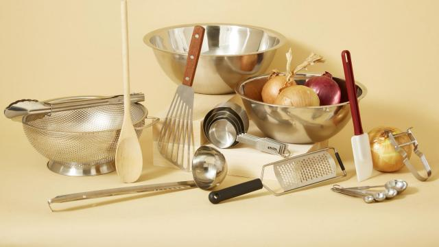 An undated handout photo shows cooking equipment from Potluck, a direct-to-consumer kitchenware company. New companies are dead-set on disruption, one kitchen cabinet at a time. (Handout via The New York Times) -- NO SALES; FOR EDITORIAL USE ONLY WITH NYT STORY KITCHENWARE COMPANIES BY MARGUERITE JOUTZ FOR NOV. 12, 2018. ALL OTHER USE PROHIBITED. --