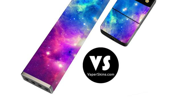 An undated photo provided by Vaper Skins shows the company's printed vinyl cover designed to slip over Juul's e-cigarette device. The covers are priced around $7 to $12, similar to other skins. (Vaper Skin via The New York Times) -- NO SALES; FOR EDITORIAL USE ONLY WITH NYT STORY SLUGGED E-CIGARETTE CASES BY STEVEN KURUTZ FOR NOV. 18, 2018. ALL OTHER USE PROHIBITED. --