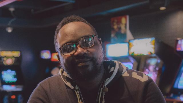 """-- PHOTO MOVED IN ADVANCE AND NOT FOR USE - ONLINE OR IN PRINT - BEFORE NOV. 18, 2018. -- The actor Brian Tyree Henry at Barcade in the East Village neighborhood of New York, Oct. 9, 2018. Henry, known for playing Paper Boi on the television series """"Atlanta,"""" appears in two highly anticipated movies this fall. (Nathan Bajar/The New York Times)"""