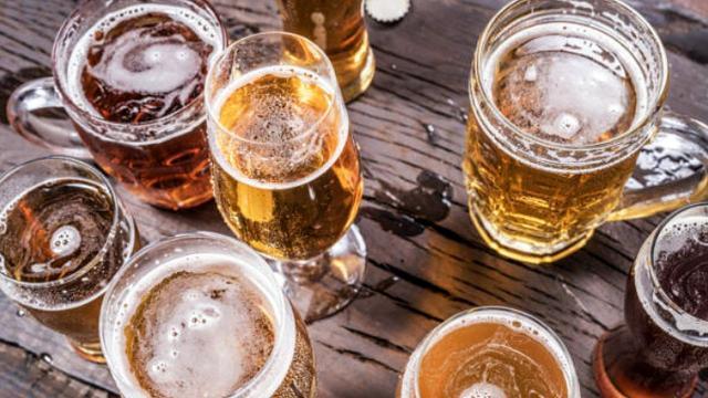 Beer (Image from Shuttershock)