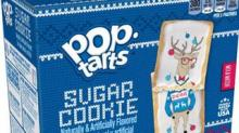 IMAGE: These Sugar Cookie Pop-Tarts Are Wearing Ugly Christmas Sweaters