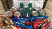 IMAGE: This Sweet Video Of A Delivery Man Discovering Snacks Left For Him On The Porch Is Going Viral