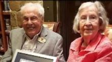 IMAGE: The World's Oldest Living Couple Just Celebrated 80 Years Of Marriage