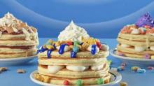 IMAGE: IHOP Has New Pancakes Topped With Cereal