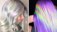 IMAGE: Holographic Hair Is A Cool New Color Trend And The Photos Will Make You Do A Double Take