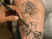 Give Yourself A Temporary Tattoo With New Skin-safe Markers