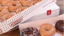 IMAGE: Healthcare Workers Can Get A Dozen Free Doughnuts From Krispy Kreme Every Monday