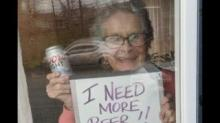 IMAGE: 93-year-old Told The Internet She Needed More Beer, Then Coors Light Delivered 150 Cans