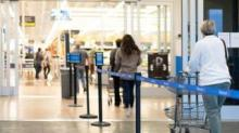 IMAGE: Walmart Implementing 1-way Aisles To Encourage Social Distancing