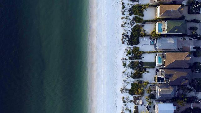 Beach and houses