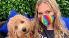 IMAGE: Buy Matching Face Masks And Dog Bandanas