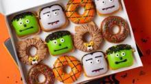 IMAGE: Krispy Kreme Has Monster Doughnuts And $1 Saturdays Throughout October