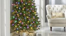 IMAGE: 'Half' Christmas Trees Are Perfect For People Who Hate Decorating The Wall Side