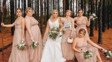 IMAGE: Bride Fully Supported Her Bridesmaid Pumping Breastmilk In Her Wedding Photos
