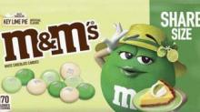 IMAGE: M&M's Is Releasing A White Chocolate Key Lime Pie Flavor