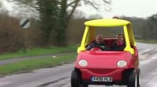 IMAGE: A Pair Of British Brothers Made An Adult-sized Toy Car That Can Reach Up To 70 MPH