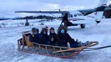 IMAGE: An All-female Medical Team In Rural Alaska Is Delivering Vaccines By Snowmobile And Sled