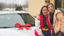 IMAGE: Chick-fil-A Employee Won A Car And Gave It To Her Coworker