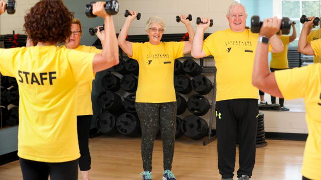 Being part of a Silver Sneakers or senior fitness program can add life to your years.