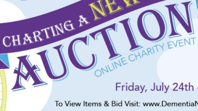 Annual auction to support families of loved ones with dementia