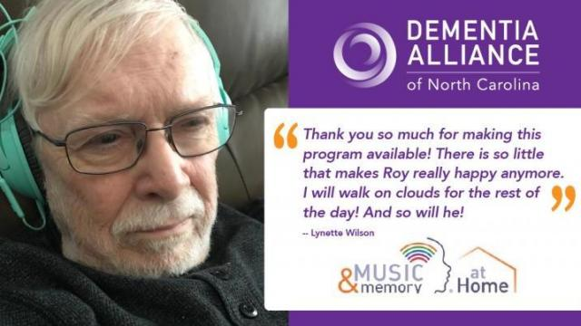 A program that can provide joy at home for those living with dementia