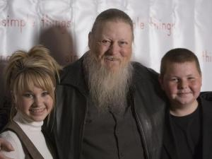 "(Left to right) Channing Nichols (""Six and the City""), Mickey Jones (""Sling Blade,"" TV series ""Home Improvement"") and Zac Gardner (""Akeelah and the Bee"") pose for portraits at the special screening of their film ""Simple Things."""