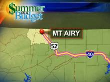 Mount Airy map