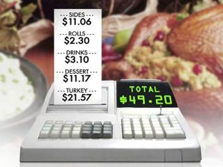 A 10-person Thanksgiving dinner will cost $49.20 in 2011, up 5 percent from 2010, according to the American Farm Bureau Federation.