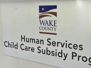 Wake County Human Services offers assistance to low-income families.