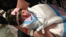 IMAGES: Babies born as new year dawns