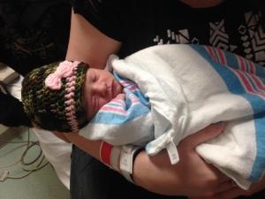 Travis and Andria Watson welcomed a baby girl, Symantha Michelle Watson, at 12:23 a.m. Thursday, Jan. 1, 2015.