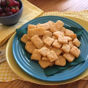 Crunchy or soft, tiny or large, Baked Cheese Crackers are delicious. (Deseret Photo)