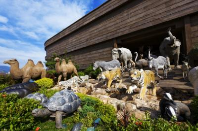 The Ark Encounter is a 510-foot long replica of Noah's Ark. It will open in Williamstown, Kentucky, on July 7. (Deseret Photo)