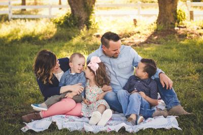 Becky Thompson has reached millions of readers through her blog with encouraging messages for mothers. (Deseret Photo)