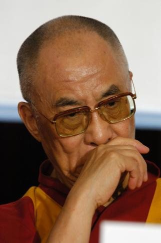 The Buddhist leader said Tuesday that there are too many refugees in Europe and urged leaders to focus on solving the crises in their homelands. (Deseret Photo)