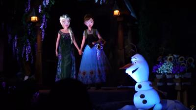 """The new """"Frozen"""" attraction at Disney World opened today. (Deseret Photo)"""