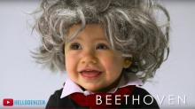 IMAGE: The Clean Cut: Babies dress up as famous 'old people' in a new YouTube video