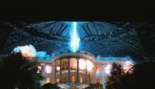 "The White House under attack from aliens in ""Independence Day,"" which was released in 1996. (Deseret Photo)"