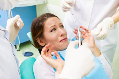 Amy Choate-Nielsen lists a fear of the dentist among the things she is scared of but must face. (Deseret Photo)
