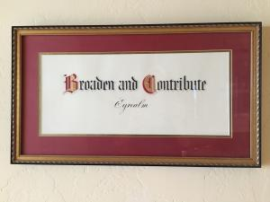 """Broaden and contribute"" is the Eyres' family vision statement. (Deseret Photo)"