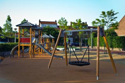 The Missouri case is about a church-operated playground receiving a rubberized playground surface that is available to other, non-church-operated playgrounds. (Deseret Photo)