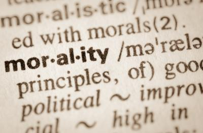 Definition of word morality in dictionary (Deseret Photo)